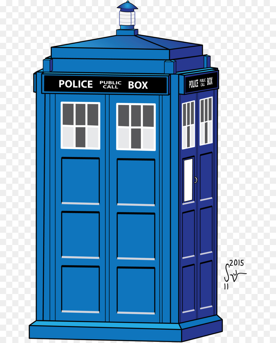 Doctor Who Tardis Drawing.