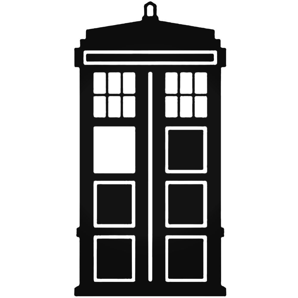 Tardis clipart black and white clipart images gallery for.