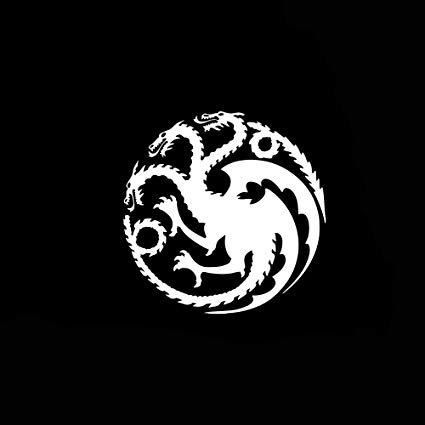 Amazon.com: zhehao Car Sticker Car Decal Daenerys Targaryen.