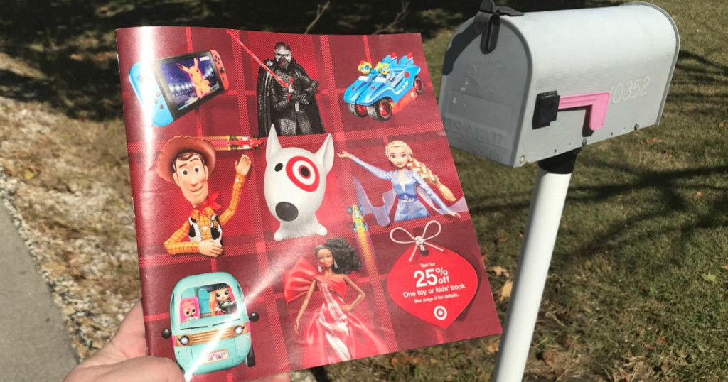 Check Your Mailbox for Target\'s 2019 Holiday Toy Catalog.