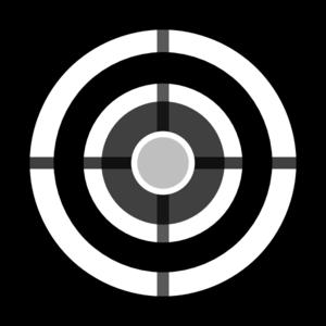 Grey Target Clip Art at Clker.com.