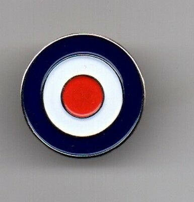 MOD TARGET LOGO NEW ENAMEL PIN BADGE NORTHERN SOUL / SCOOTER / RAF / WELLER.