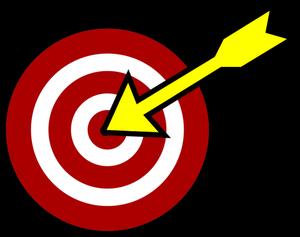 94 target clip art bullseye.