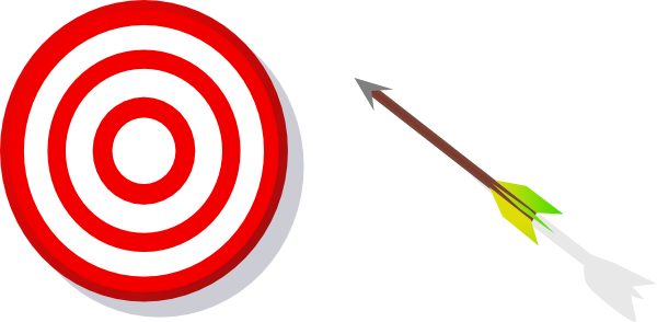 2146 Target free clipart.