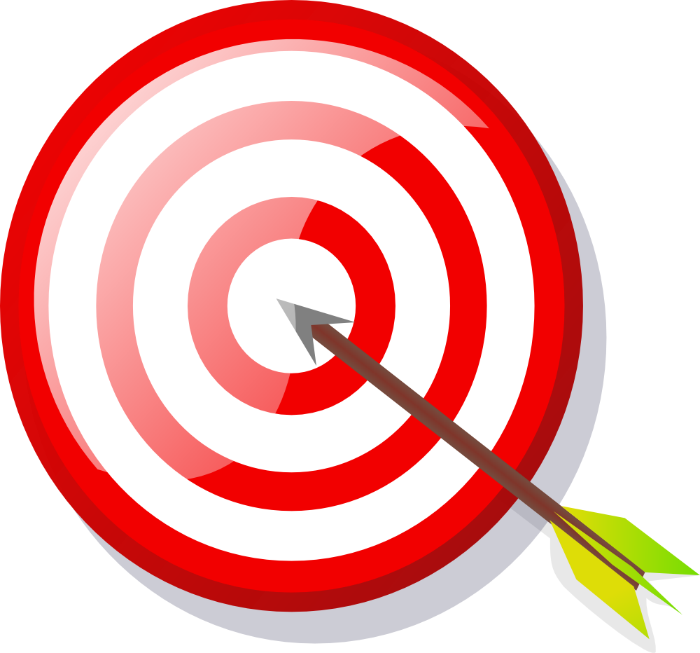 Free Target With Arrow, Download Free Clip Art, Free Clip.