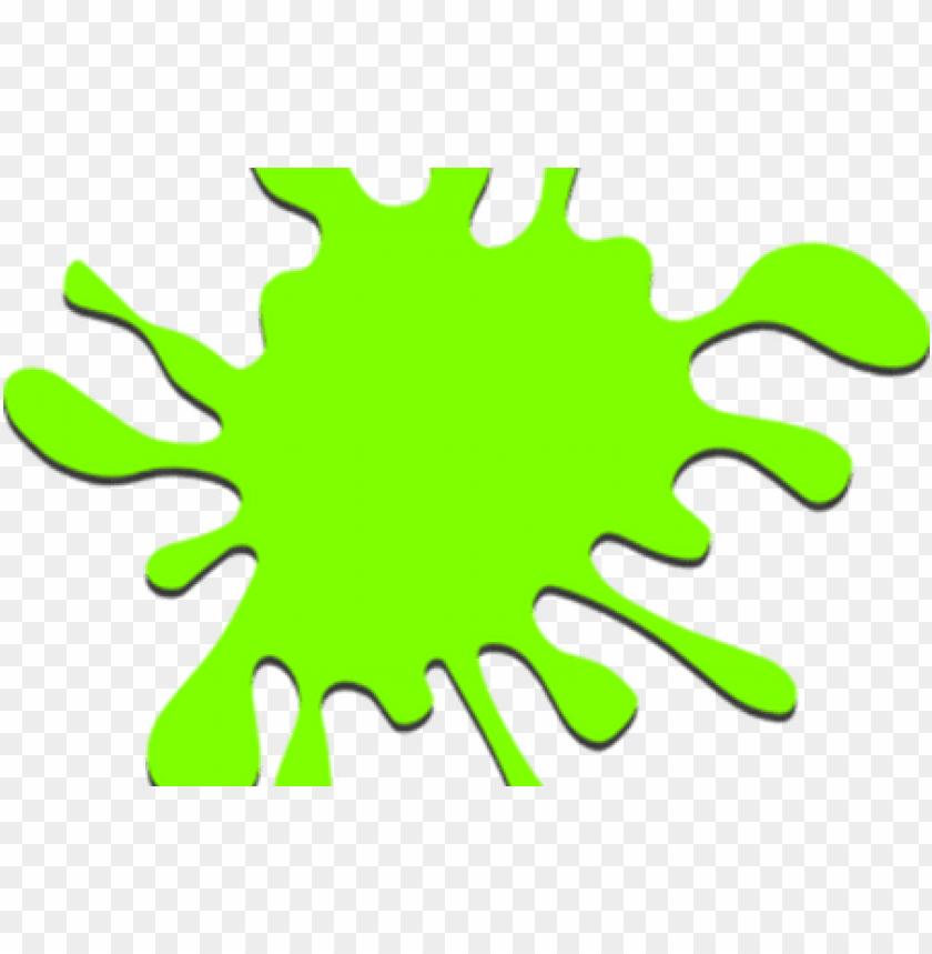 reen paint splatter vector.