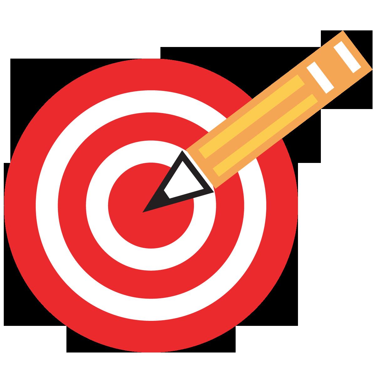 Learning Target Bullseye Clipart.