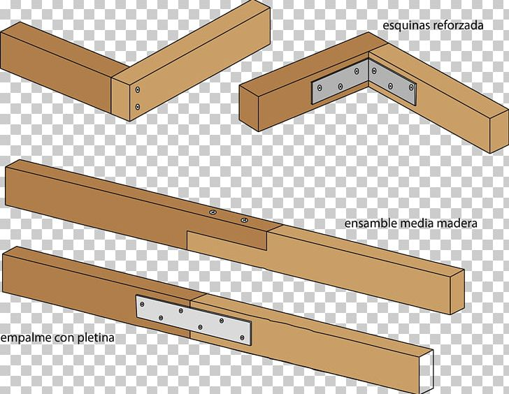 Woodworking Joints Furniture Entarimado Material PNG.