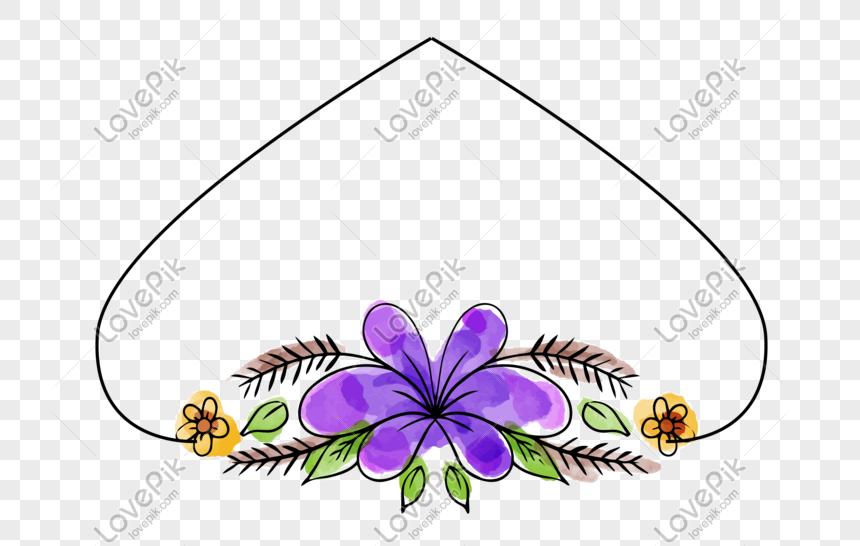 amor creativo flores moradas encaje Imagen Descargar_PRF.