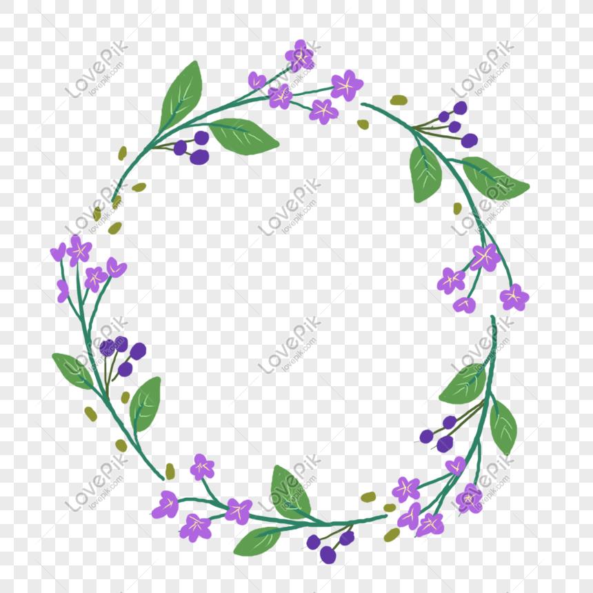 flores moradas y plantas de frontera Imagen Descargar_PRF.