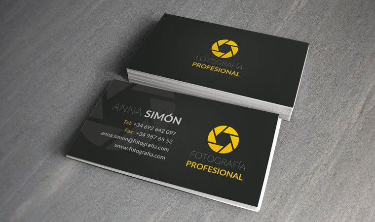 tarjeta de presentacion.