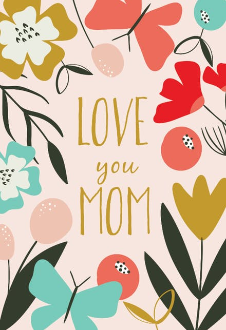 Tarjetas Del Día De La Madre Gratis.