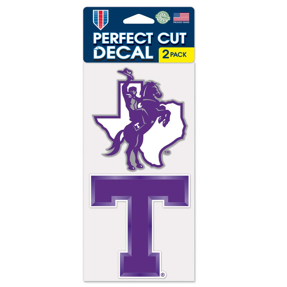 Tarleton State Texans Die Cut Decal.