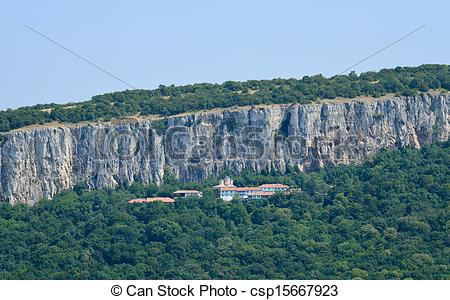 Stock Photo of The Holy Trinity Patriarch monastery near Veliko.