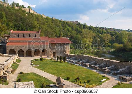 Picture of Holly Forty martyrs church, built 1230, Veliko Tarnovo.