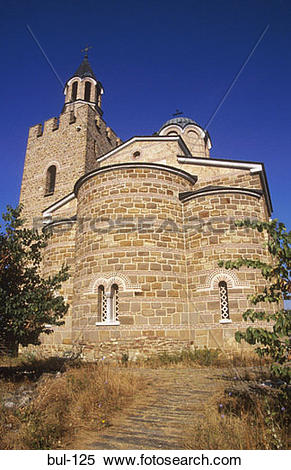Stock Image of View of the Assumption Patriarchal Church Veliko.