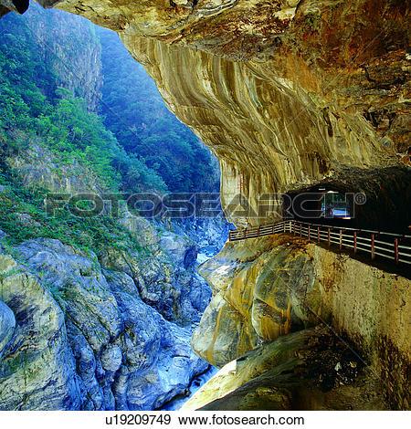 Stock Photograph of landscape, scenery, Taiwan, scenic spot.