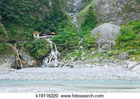 Stock Photography of Taiwan Taroko National Park.