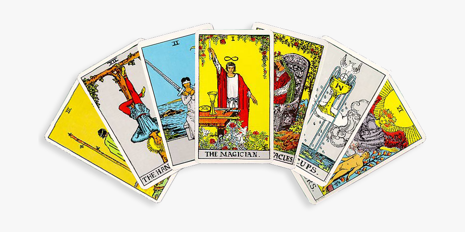 Tarotcards Clipart Rider Deck.