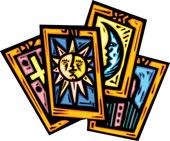 Clip Art of High priestess tarot card akh0002.