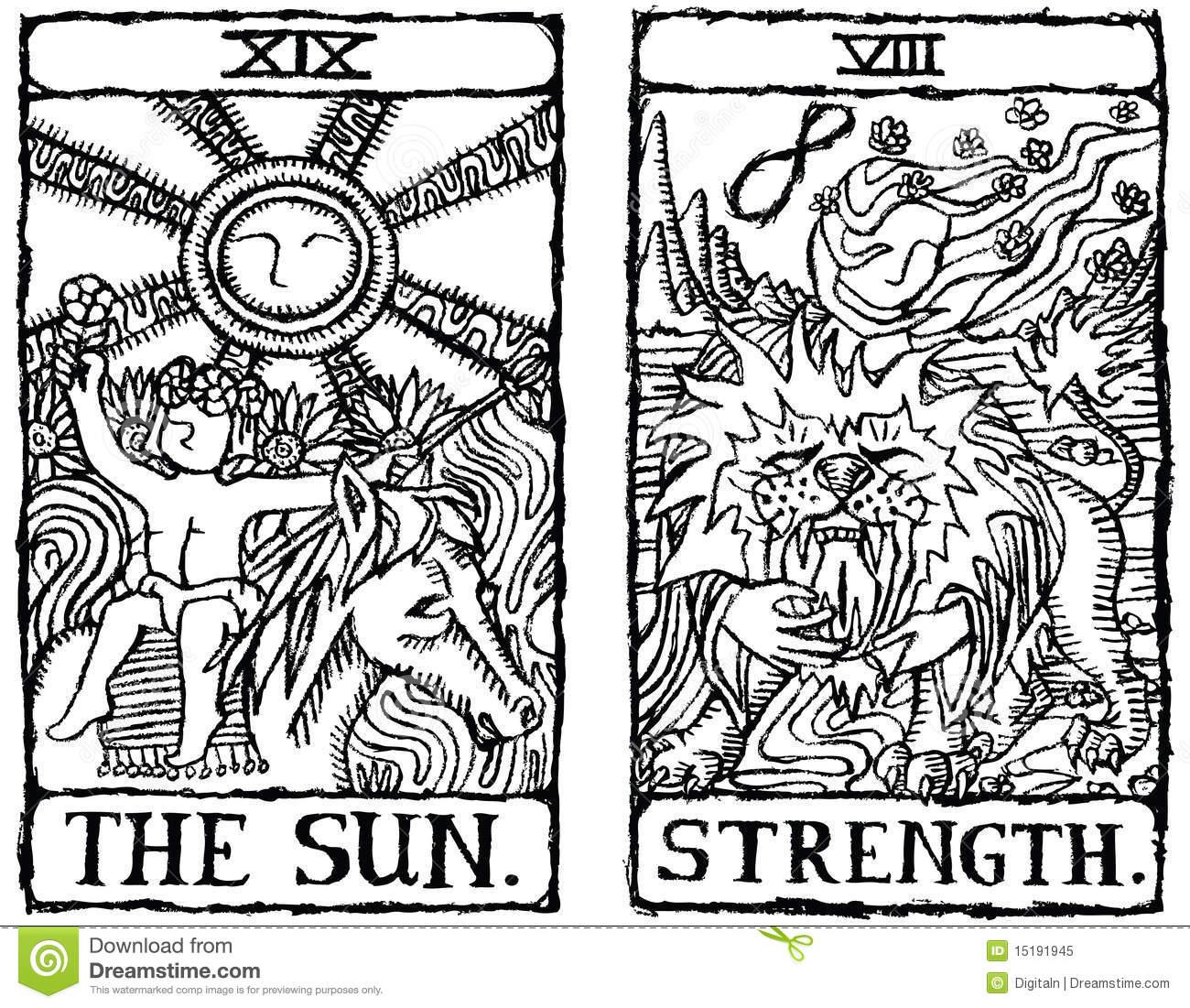 Fortuneteller Stock Illustrations.
