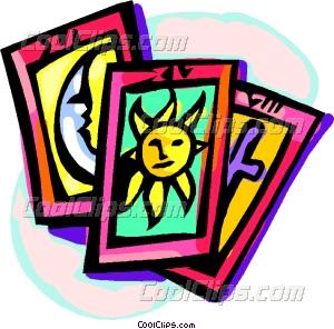 tarot cards Vector Clip art.