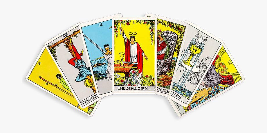 Tarotcards Clipart Rider Deck.