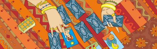 Tarot Stock Illustrations.