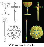 Tarot Illustrations and Clip Art. 743 Tarot royalty free.