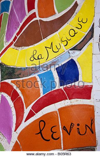 Mozaic Niki De Saint Phalle Stock Photos & Mozaic Niki De Saint.