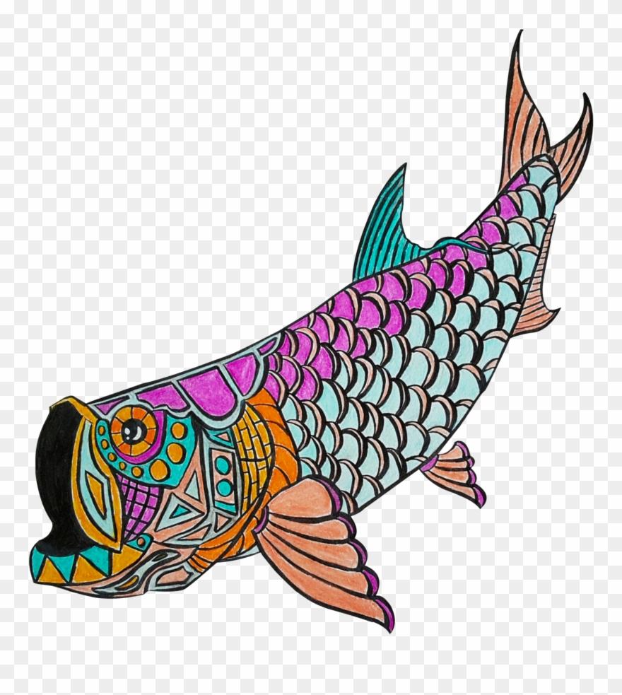 Tarpon Fish Clip Art.