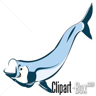 CLIPART TARPON FISH.