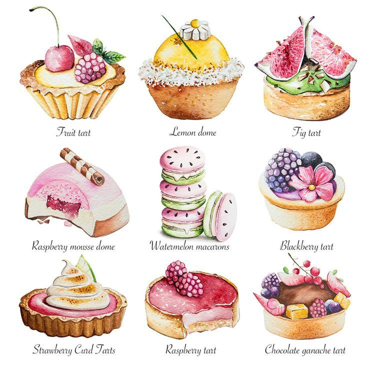 cupcakes clipart cake pastry #787 in 2019.