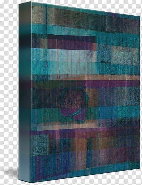 Tartan Gallery wrap Canvas, underwater Border transparent.