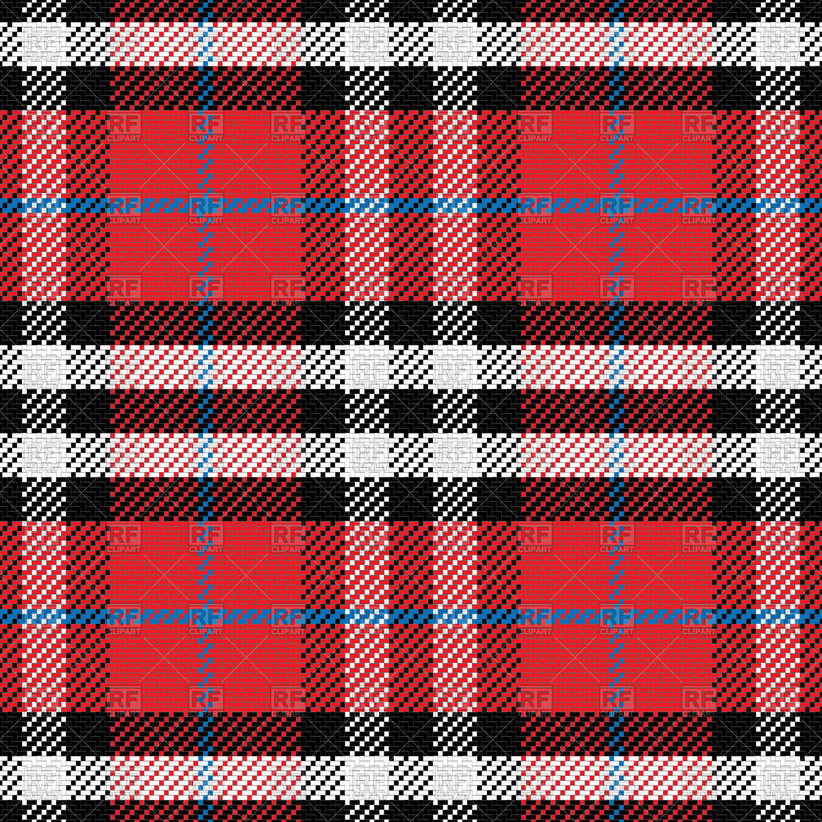 Scottish tartan pattern Vector Image #43720.