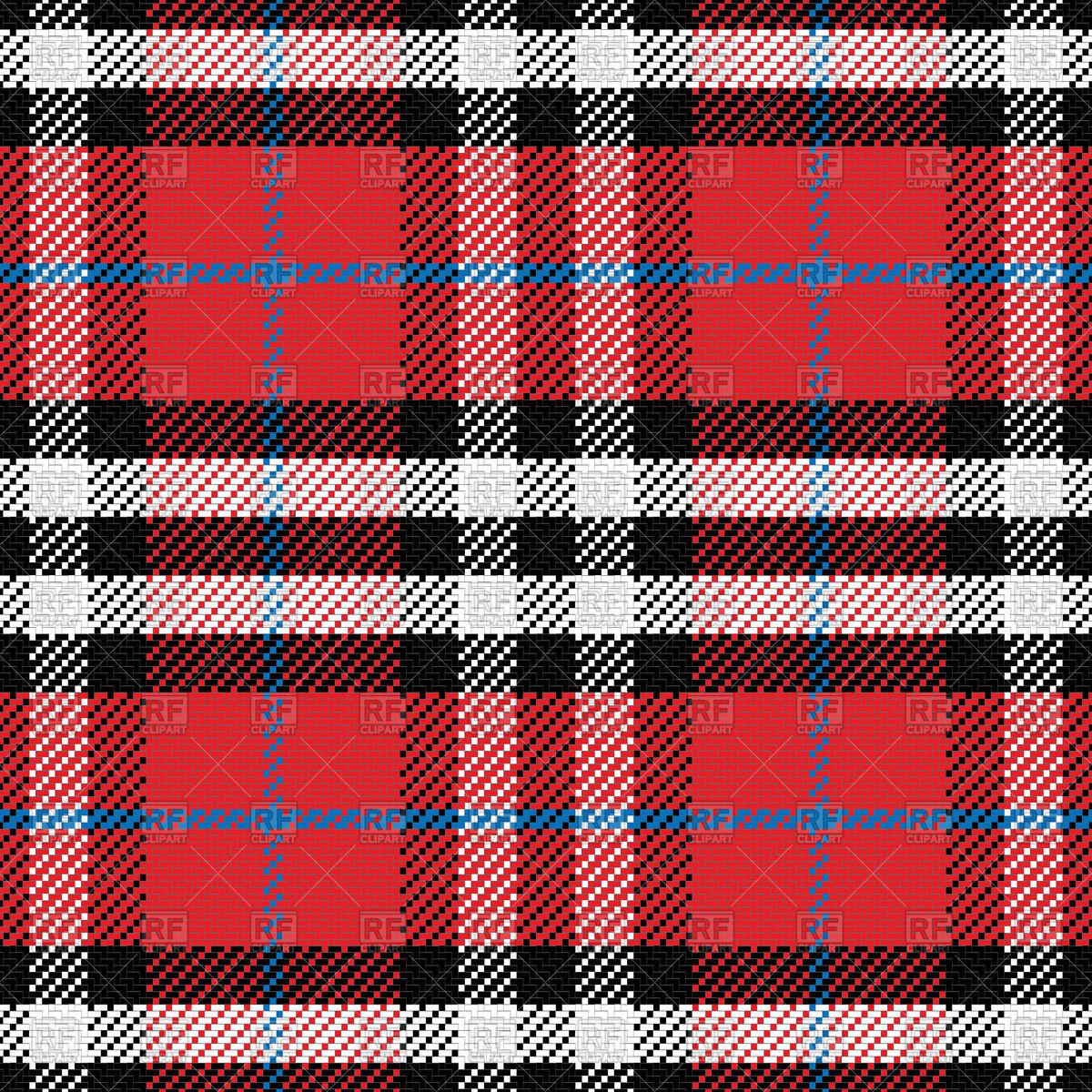 Scottish tartan pattern Vector Image #43720.