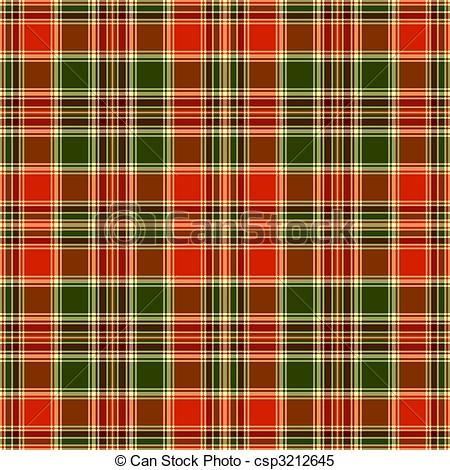 Clipart Vector of Seamless tartan pattern.