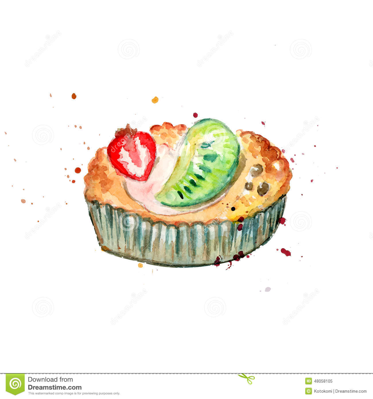 Tartlet Stock Illustrations.