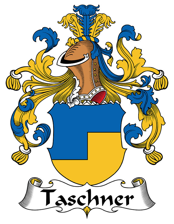 Taschner Coat Of Arms German Digital Art by Heraldry.