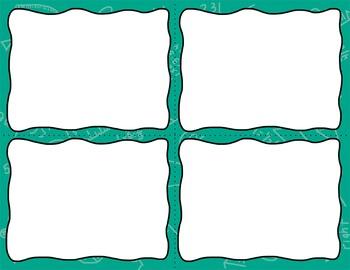 Task Card Templates Clip Art MINI SET 10.