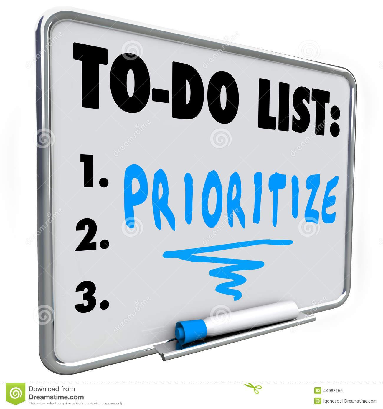 Task List Clipart.