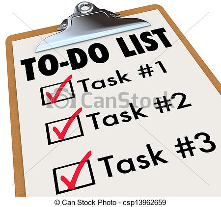 Tasks Illustrations and Clipart. 16,749 Tasks royalty free.