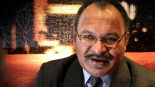PNG Task Force Sweep corruption busters clear Peter O\'Neill.