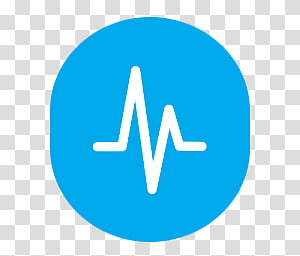 Radial Icon Set , Task Manager, heart beat pulse transparent.