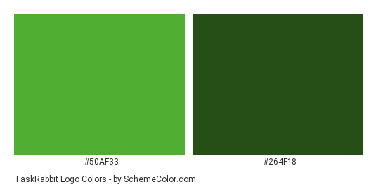 TaskRabbit Logo Color Scheme » Brand and Logo » SchemeColor.com.