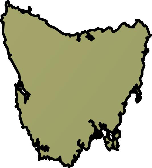 Tasmania clipart.