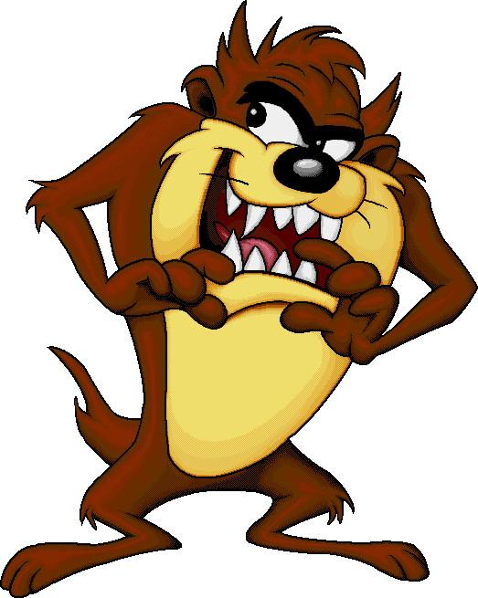 Tasmanian devil Clip Art.