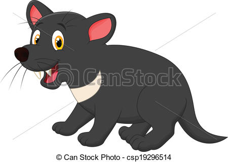 Tasmanian devil Vector Clipart Royalty Free. 100 Tasmanian devil.