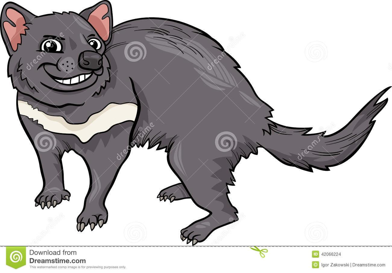 Tasmanian devil clipart.