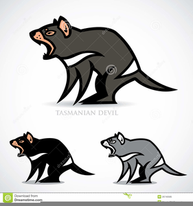Free Tasmanian Devil Clipart.